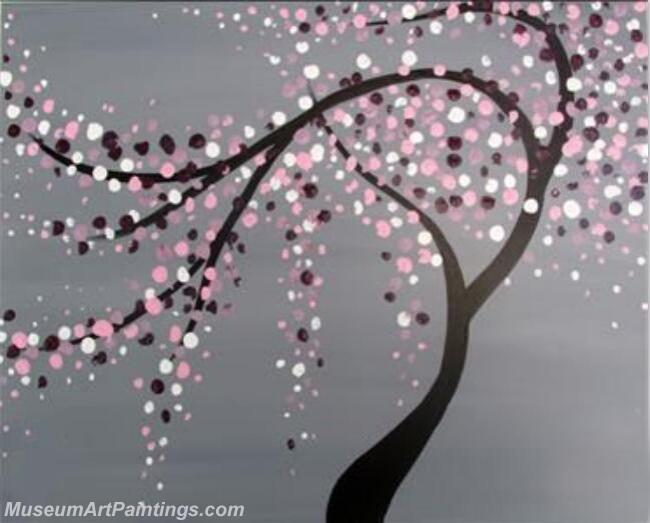 Modern Abstract Art Paintings Landscape Tree MDA042