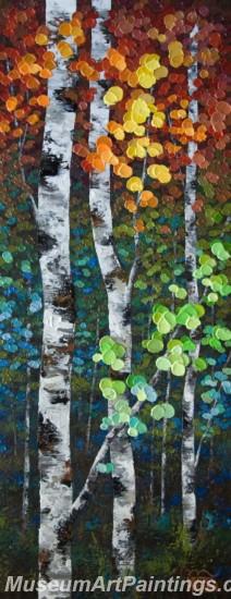 Modern Abstract Art Paintings Landscape Tree MDA06
