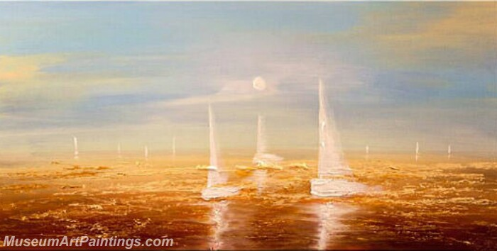 Modern Art Paintings Of Sail Boats