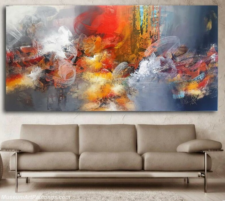 Modern Abstract Painting Colorful Art Deco for Living Room