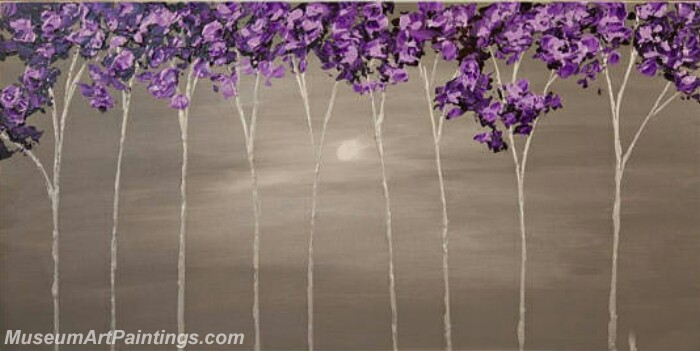 Modern Abstract Wall Art Painting Abstract Flower Tree Landscape Paintings MFL032