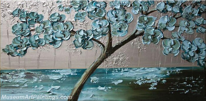 Modern Abstract Wall Art Painting Abstract Flower Tree Landscape Paintings MFL033