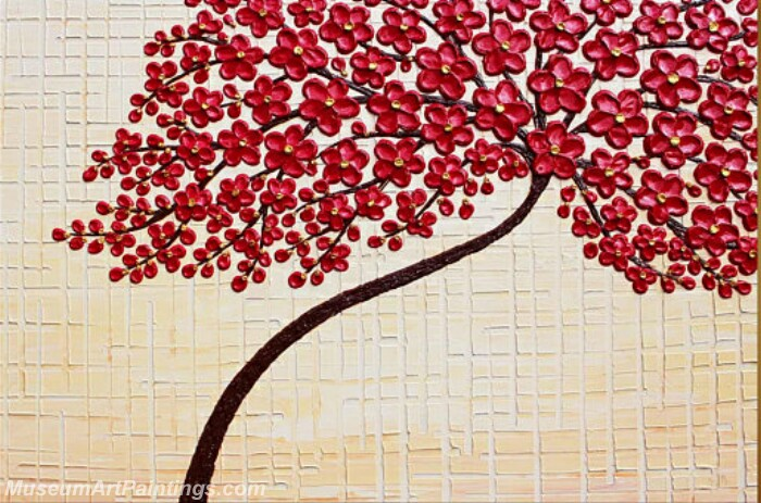 Modern Abstract Wall Art Painting Abstract Flower Tree Landscape Paintings MFL040