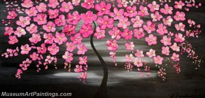 Modern Abstract Wall Art Painting Abstract Flower Tree Landscape Paintings MFL047