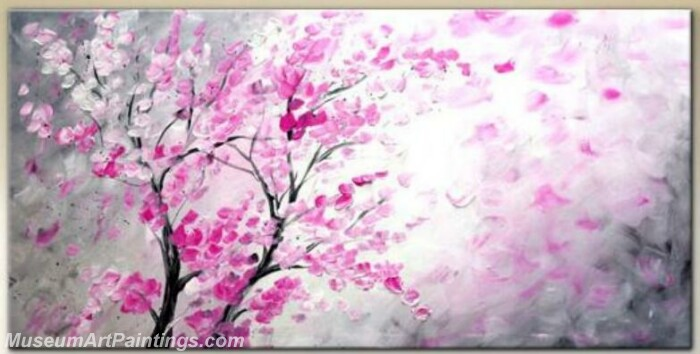 Modern Abstract Wall Art Painting Abstract Flower Tree Landscape Paintings MFL049