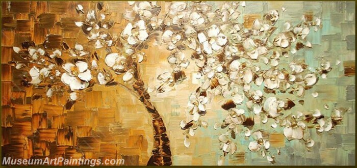Modern Abstract Wall Art Painting Abstract Flower Tree Landscape Paintings MFL055