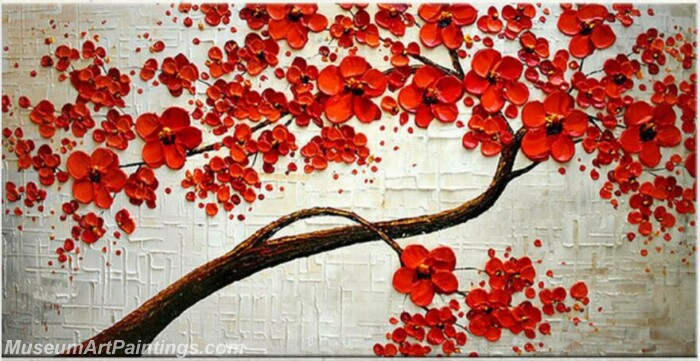 Modern Abstract Wall Art Painting Abstract Flower Tree Landscape Paintings MFL058