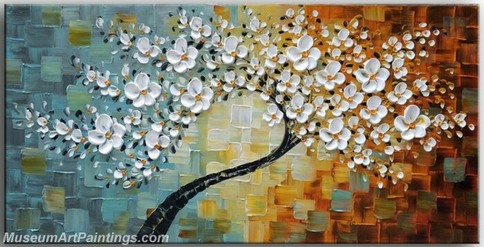 Modern Abstract Wall Art Painting Abstract Flower Tree Landscape Paintings MFL064
