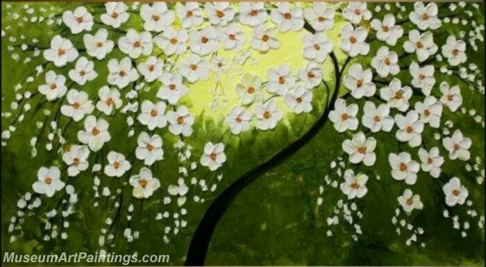 Modern Abstract Wall Art Painting Abstract Flower Tree Landscape Paintings MFL066