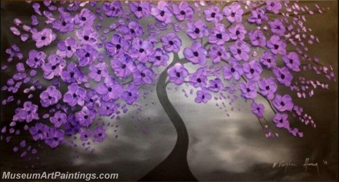 Modern Abstract Wall Art Painting Abstract Flower Tree Landscape Paintings MFL069