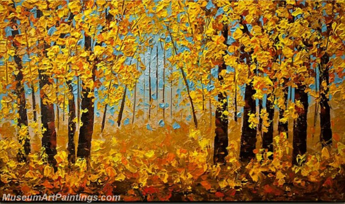 Modern Abstract Wall Art Painting Abstract Tree Landscape Paintings MTL053