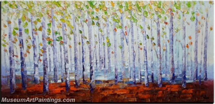 Modern Abstract Wall Art Painting Abstract Tree Landscape Paintings MTL066