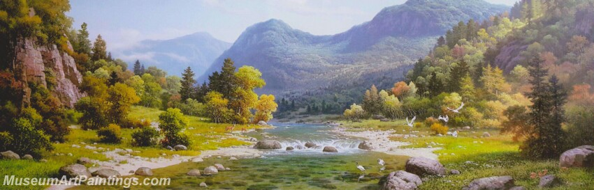 Modern Landscape Paintings MLP012
