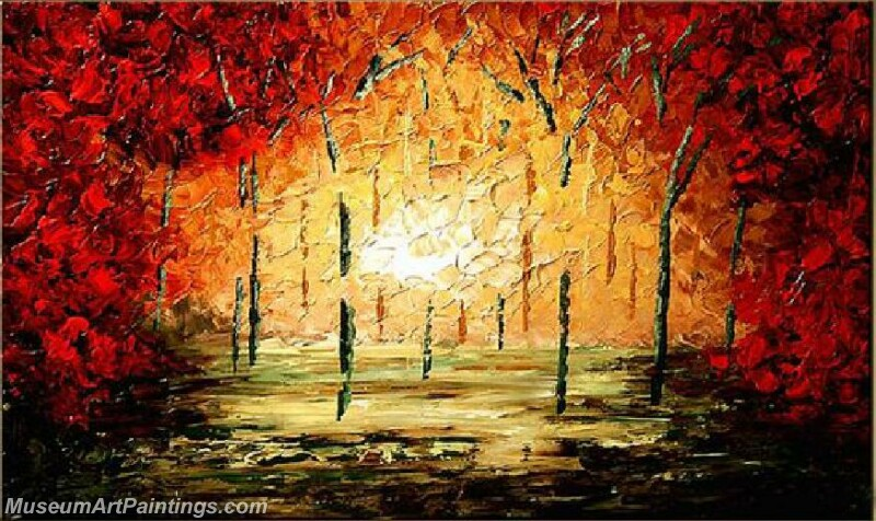 Modern Landscape Tree Painting 05