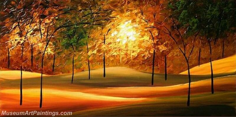 Modern Landscape Tree Painting 06
