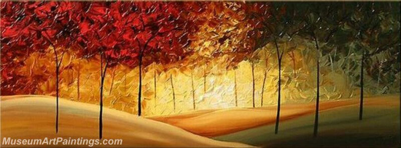 Modern Landscape Tree Painting 07