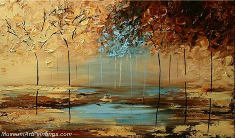 Modern Landscape Tree Painting 08