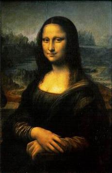Mona Lisa Portrait Painting