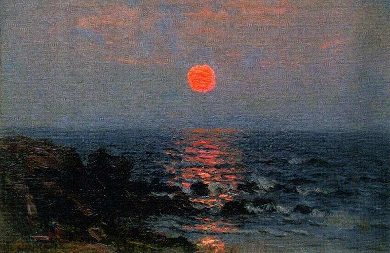 Moonlight on the Ocean by John Joseph Enneking