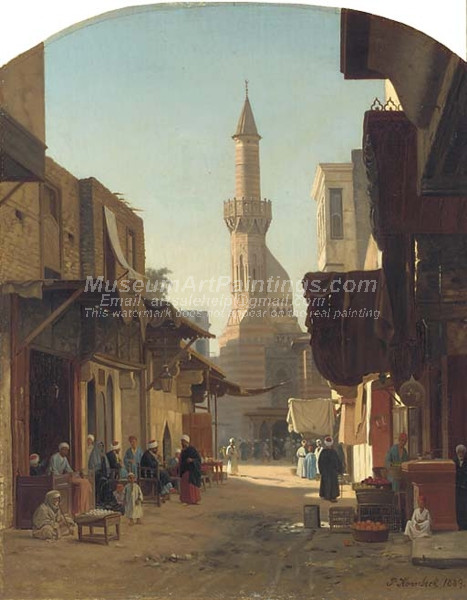 Mosque in Cairo by John Peter Kornbeck