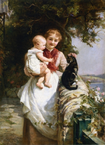 Motherly Love by Frederick Morgan