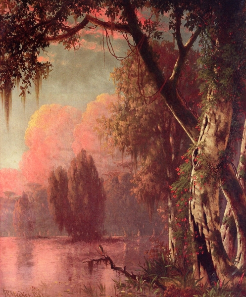 Near the Atchafalaya by Joseph R Meeker