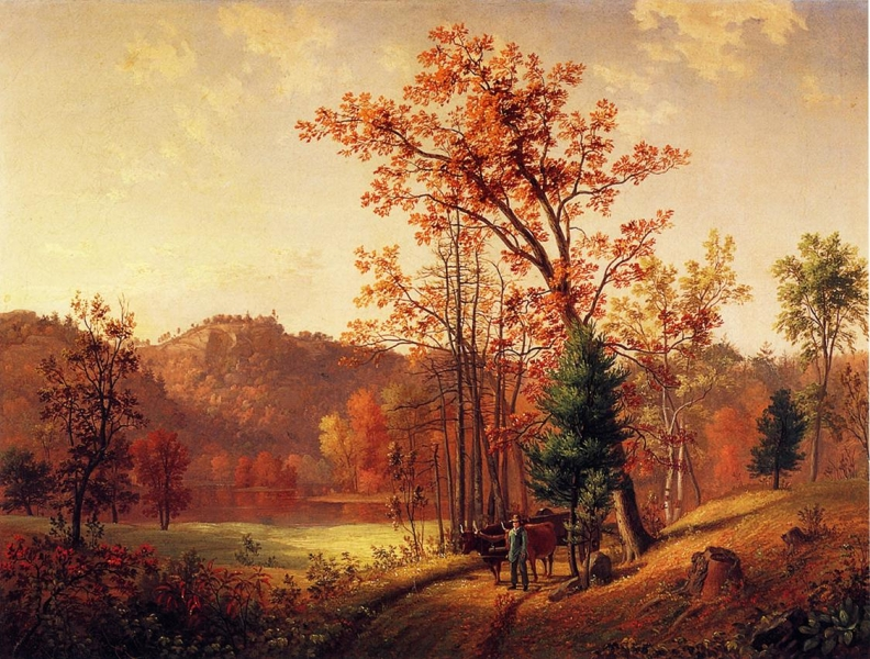 New England Autumn by Samuel Lancaster Gerry