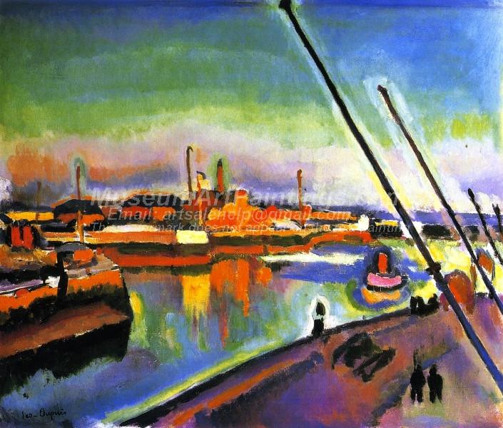 Notre Dame Embankment Le Havre by Georges Dupuis