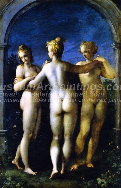 Nude Oil Paintings The Three Graces