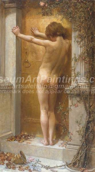 Nude Paintings Love Locked Out