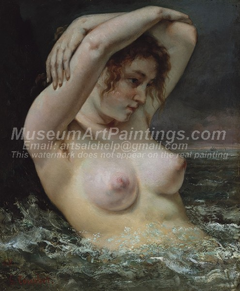 Nude Paintings The Woman in the Waves