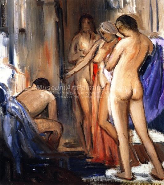 Nudes by Joseph Kleitsch