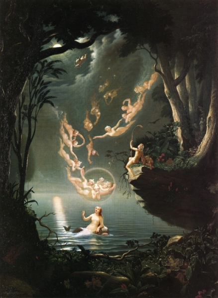 Oberon and the Mermaid by Douglas Harvey