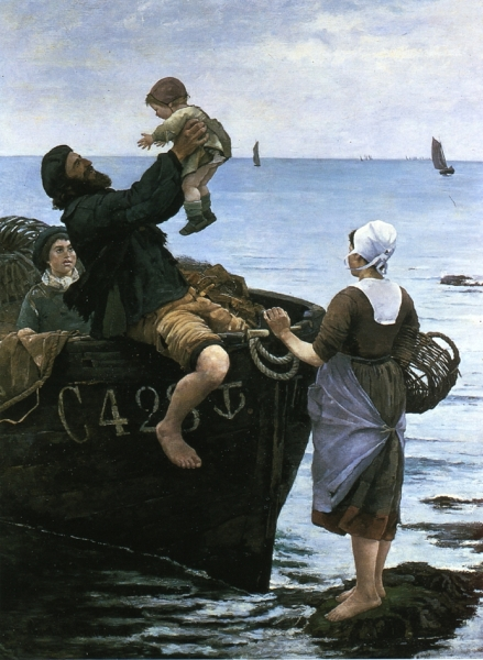 Off to Sea by Emma Lowstedt Chadwick