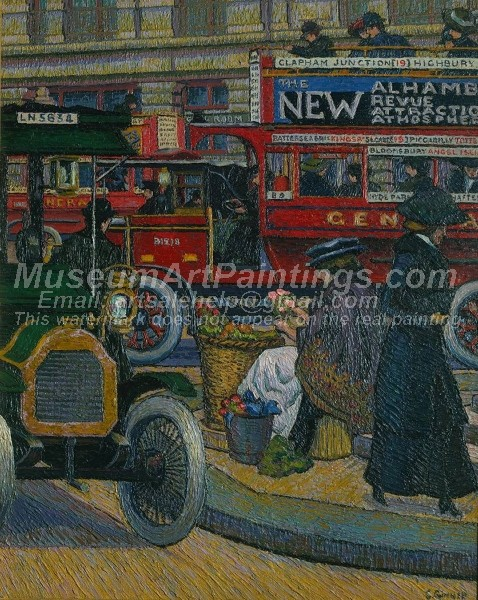 Oil Paintings Piccadilly Circus