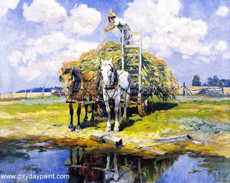 Oil Paintings The Last Load