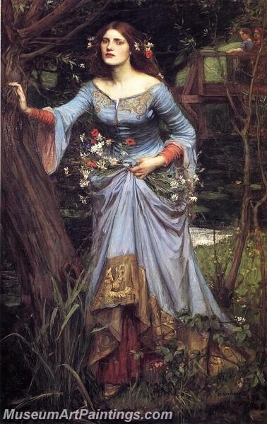 Ophelia 2 Painting