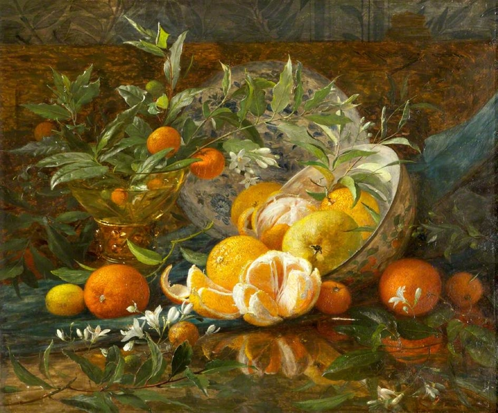Oranges by William Jabez Muckley