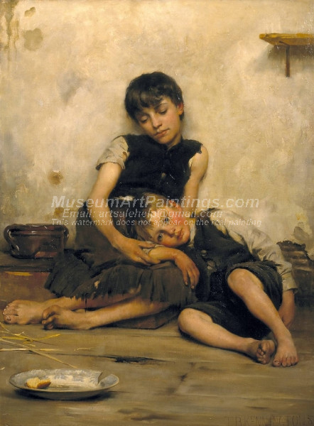 Orphans by Thomas Benjamin Kennington