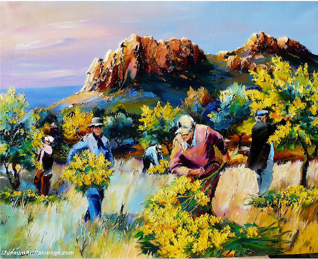 Palette Knife Oil Painting 015
