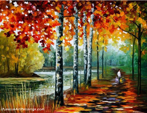Palette Knife Oil Painting 027
