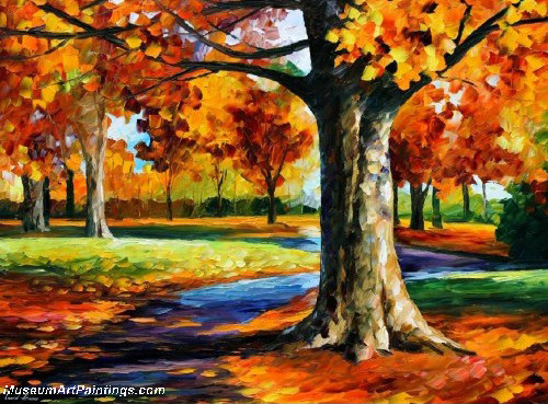 Palette Knife Oil Painting 035