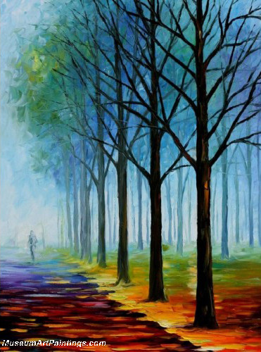 Palette Knife Oil Painting 066