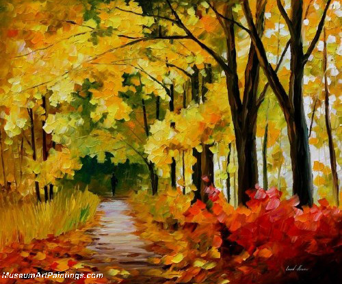 Palette Knife Oil Painting 071