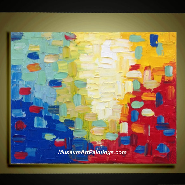 Palette Knife Oil Painting Abstract 001