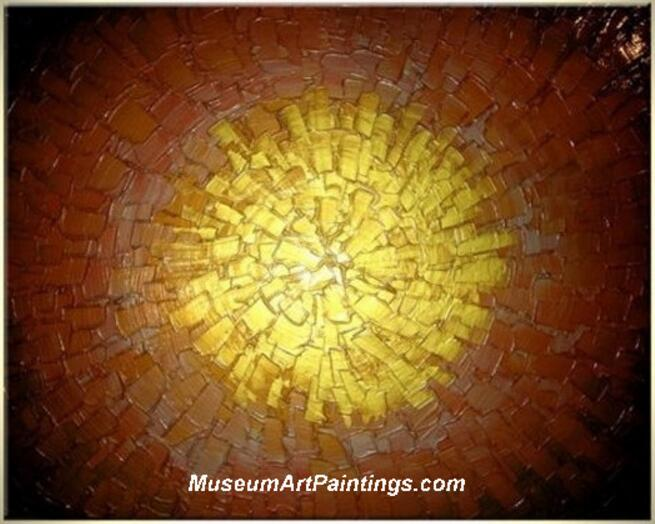 Palette Knife Oil Painting Abstract 002