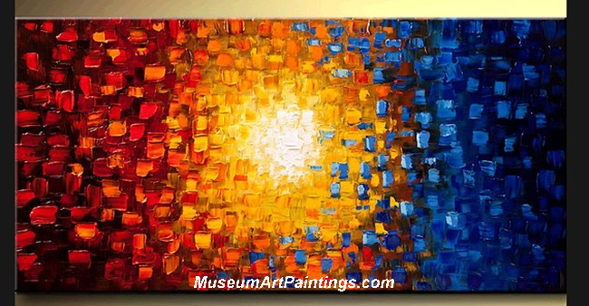 Palette Knife Oil Painting Abstract 005
