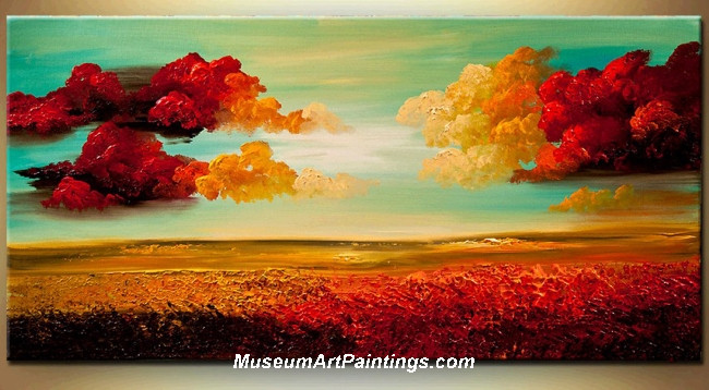 Palette Knife Painting Abstract Landscape