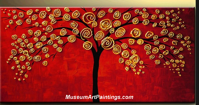 Palette Knife Painting Tree of Life