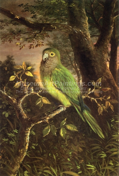 Parrot on a Branch by John OBrien Inman